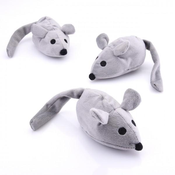 Spielmaus mit Katzenminze Katzenspielzeug
