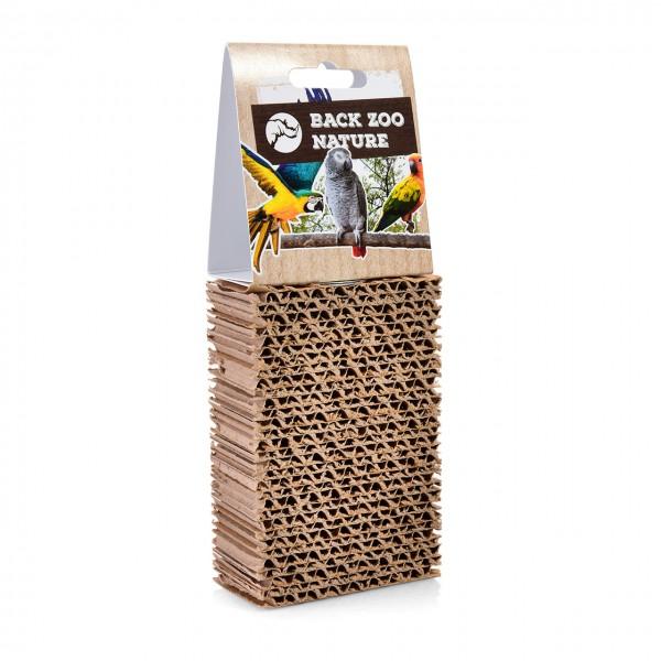 Cardboard Treat Block | Sitzbrett zum schreddern aus Wellpappe SMALL