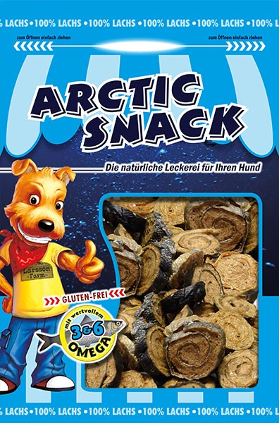 ARCTIC SNACK Lachs-Möpse 100gr