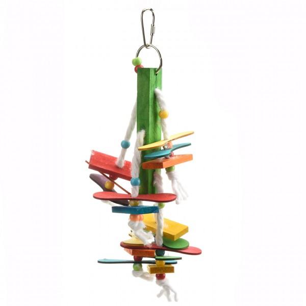 Popsicle Cotton Hanger - Vogelspielzeug für Sittiche & Papageien