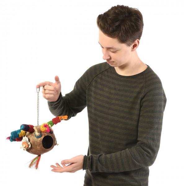 Vogelspielzeug Drama Queen