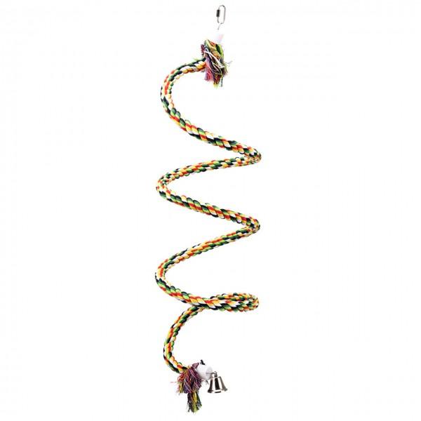 """Baumwollspirale für Papageien """"Cotton Curl"""" für den kleinen und mittleren Papagei"""