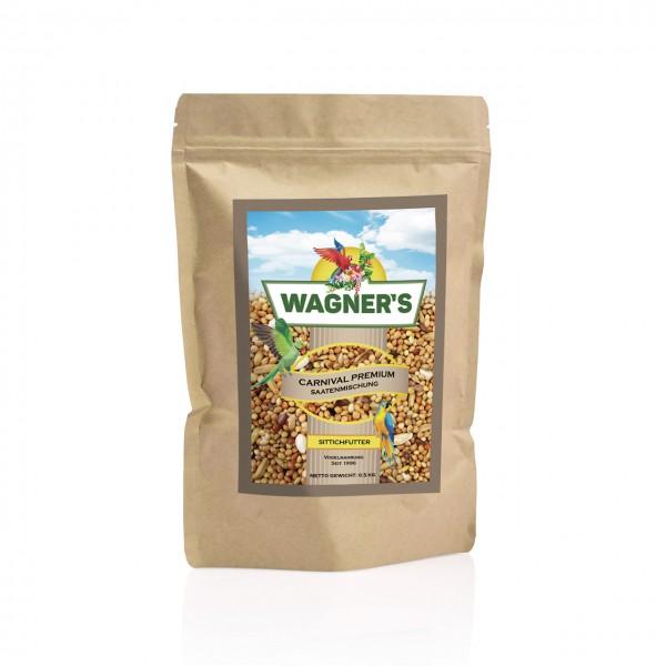 Wagner''s Sittichfutter Carnival Premium - 500 g