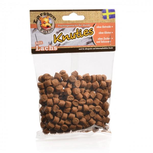 KNUTIES Kauartikel - Kartoffel-LACHS Hunde Snack Leckerlie 150gr