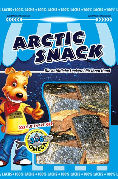ARCTIC SNACK Lachs-Happen 100gr