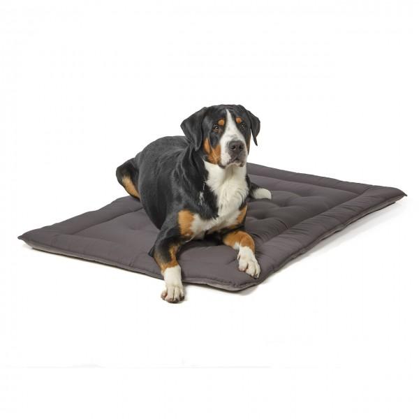gesteppte Hundedecke 130 x 90 cm, hellgrau/dunkelgrau bei 95°C waschbar für Hunde