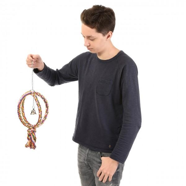 Vogelspielzeug Rope Ball