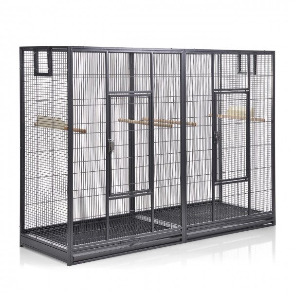 Doppelkäfig Melbourne 160 - Antik von Montana Cages
