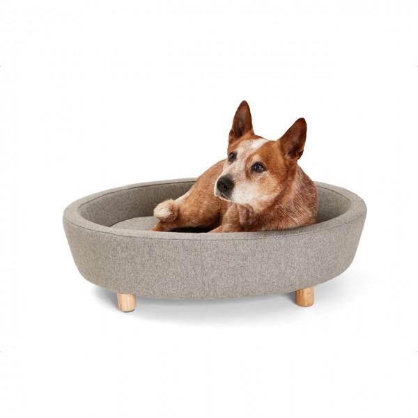 Hundebett Derby | Grau | Hundekissen, Schlafplatz für Hunde
