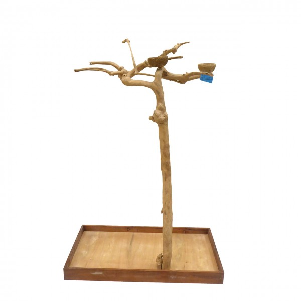 Java Tree Freisitz aus Kaffeeholz - Large für Papageien, Aras und Kakadus BS40211
