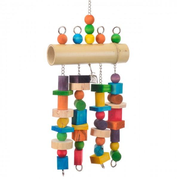 Papageienspielzeug Bambus de Luxe XXL