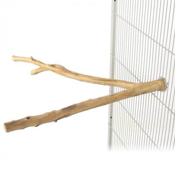 Klettersitzstange   Baliwood - Large   Naturholzsitzstange   ca. 40 x 4 cm