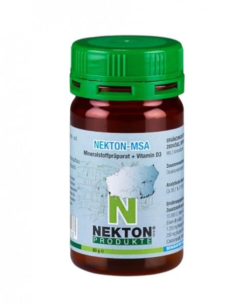 NEKTON-MSA 80gr. | Hochwirksames Mineralstoffpräparat für Ziervögel