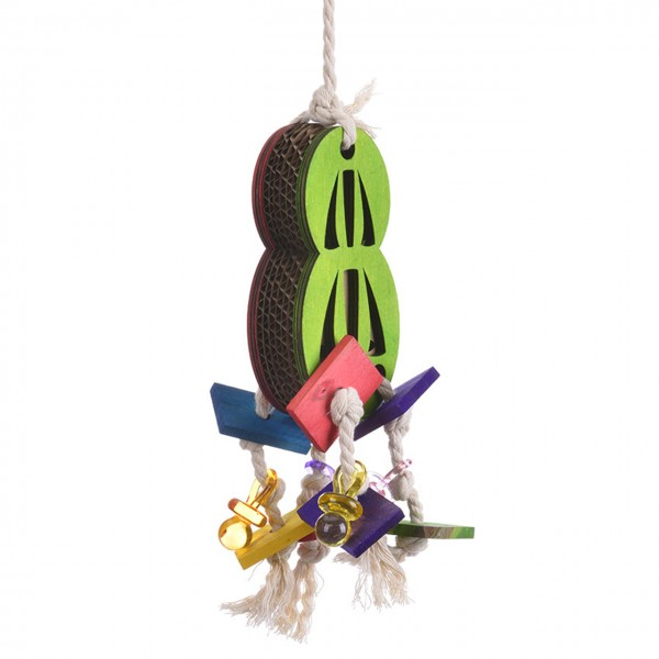Shredderspielzeug Peanut Sandwich  Bird Toy