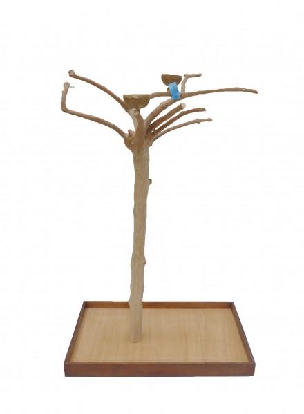 Java Tree Freisitz aus Kaffeeholz - Large für Papageien, Aras und Kakadus BM5241