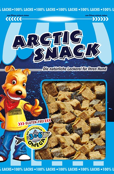 12 x 100gr ARCTIC SNACK Lachs-Nuggets
