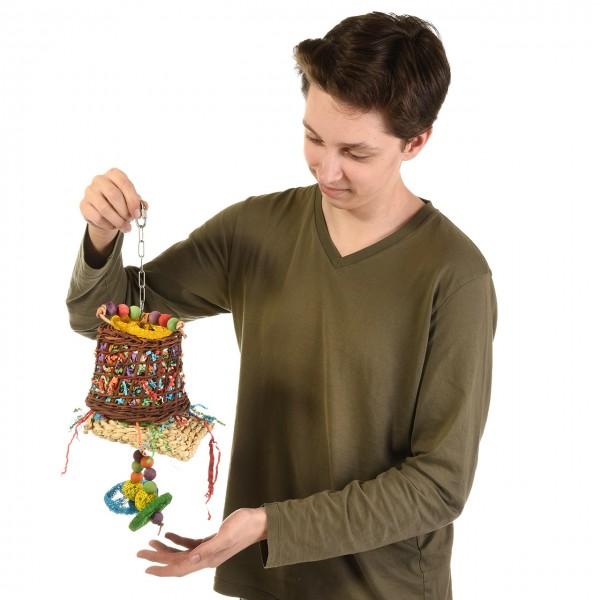 Color-Bell-Fun Großsittich und Papageien-Spielzeug