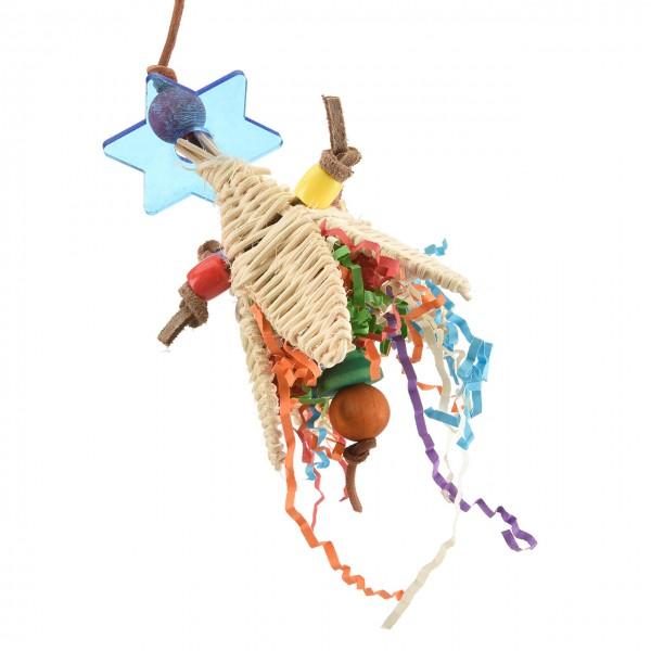Veggie - Tree, Sittichspielzeug aus Holz & Bast