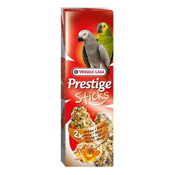 Knabberstangen für Papageien Nuss & Honig