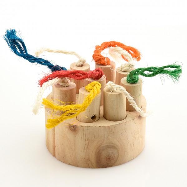 Foraging Spielzeug Treat Puzzle - Versteckspielzeug für Sittiche & Papageien