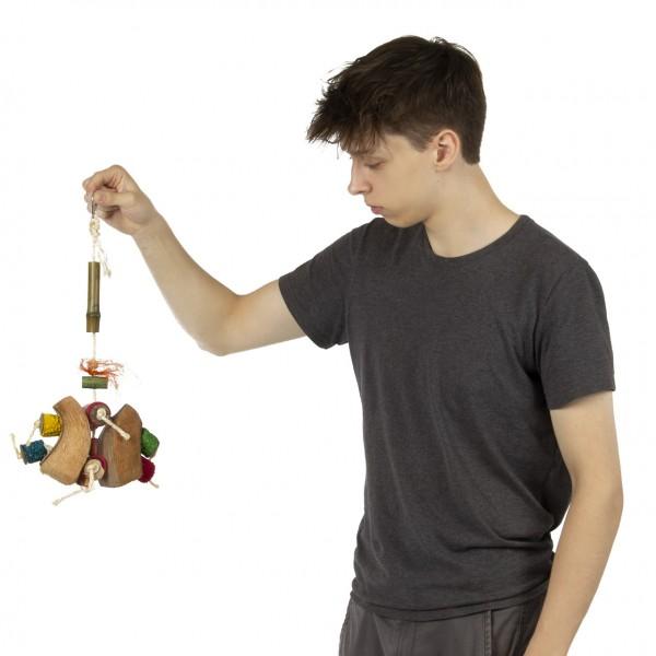 Vogelspielzeug   Coconut Butterfly Toy   Shredderspielzeug