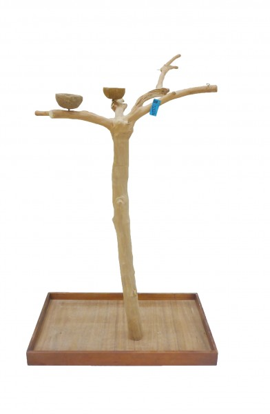 Java Tree Freisitz aus Kaffeeholz - Large für Papageien, Aras und Kakadus BM5324