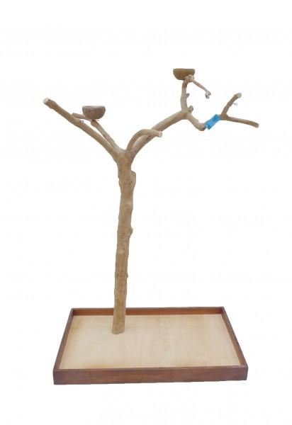 Java Tree Freisitz aus Kaffeeholz - Large für Papageien, Aras und Kakadus BM5387