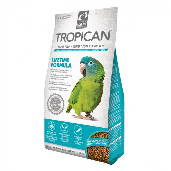 Papageienfutter HARI TROPICAN Lifetime 4mm Granules 820gr.