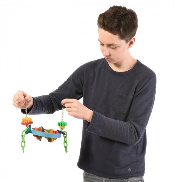 Vogelspielzeug Busy Beak - für Papageien & Sittiche