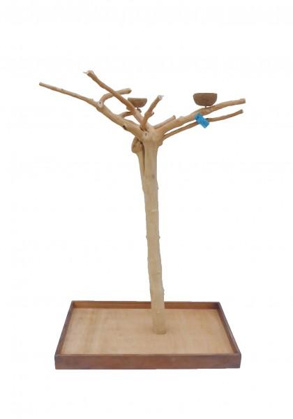 Java Tree Freisitz aus Kaffeeholz - Large für Papageien, Aras und Kakadus BM5365