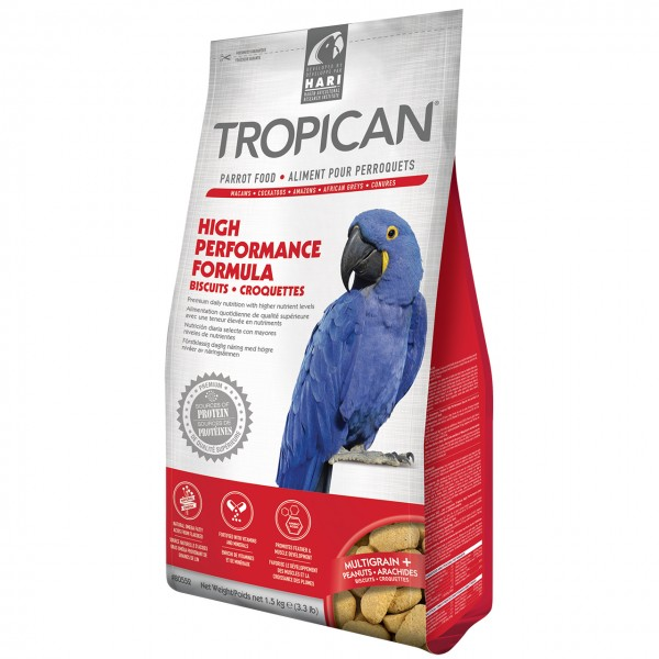 Papageienfutter HARI TROPICAN High Performance Biscuits 1,5kg