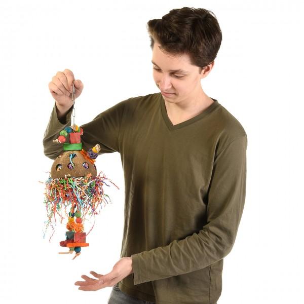 Coconut-Jelly-Delly - Spielzeug für Papageien