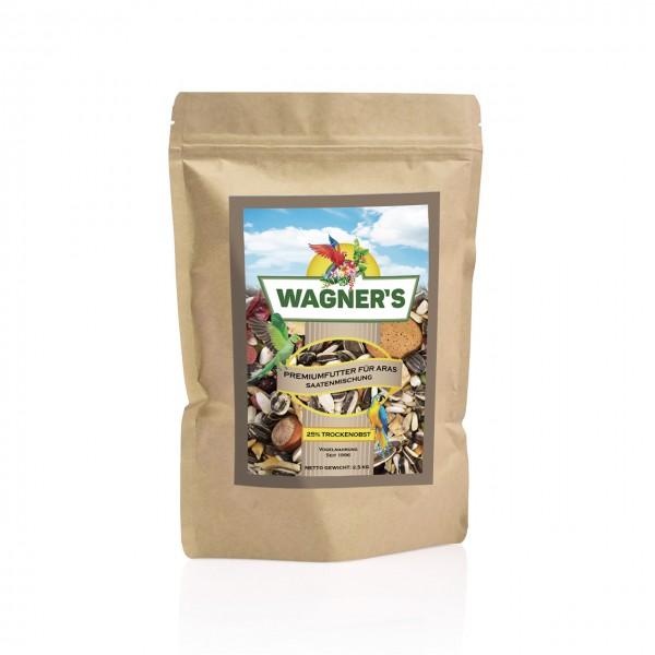 Wagner''s Premium Futter für Aras - 2,5 kg Papageienfutter