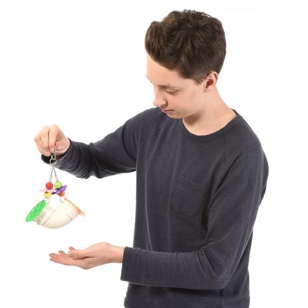 Papageienspielzeug Pipe-Arch Foraging Spielzeug für Papageien