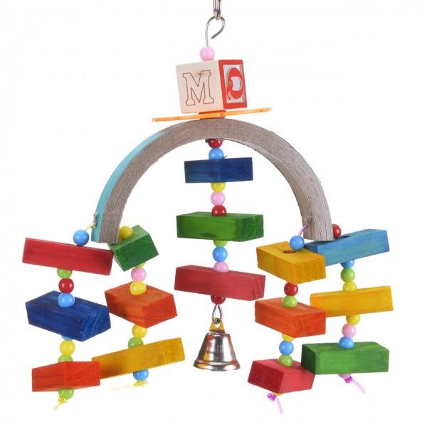 Vogelspielzeug Rainbow Bridge Bird Toy