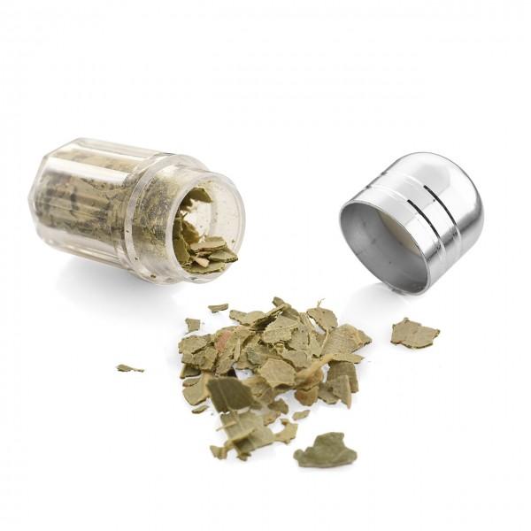 Mini Kapsel - Eukalyptusblätter geschnitten | zum Befüllen von Duftkapseln oder Dufttaschen - Nachfüllkapsel für unseren Filzball mit Dufttasche