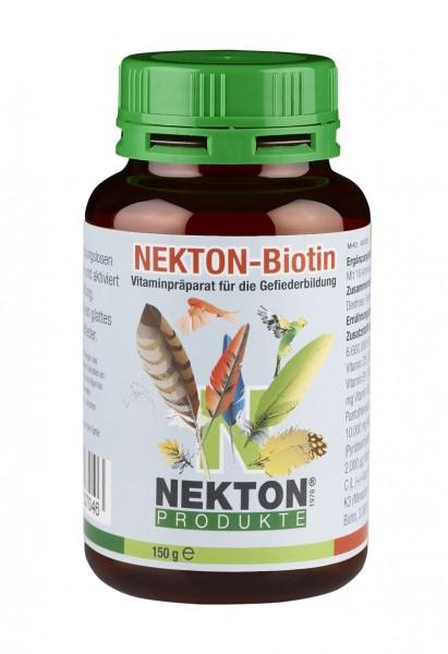 NEKTON-Biotin 150gr. | Vitaminpräparat zur Gefiederbildung für alle Vögel