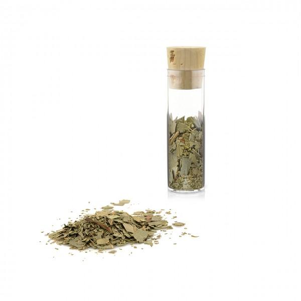 Eukalyptusblätter geschnitten | zum Befüllen von Duftkapseln oder Dufttaschen | Reagenzglas ca. 25 ml