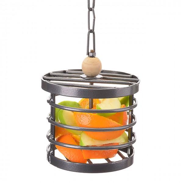 Metallkörbchen zum Befüllen für Sittiche & Papageien Foraging