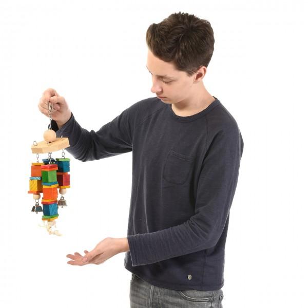 Windmühle - die schönste Beschäftigung für Sittiche und kleine Papageien!