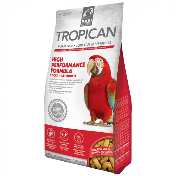 Papageienfutter HARI TROPICAN High Performance Sticks 3,63kg