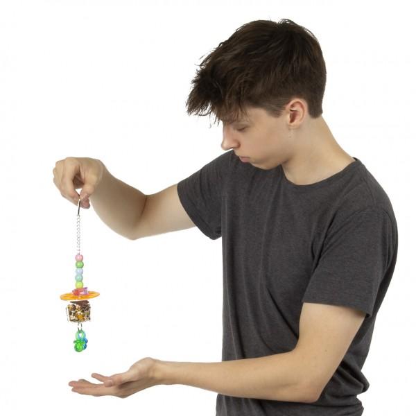 """Versteckspielzeug """"The Hide Out XL"""" für Sittiche & Papageien das Foraging Toy"""