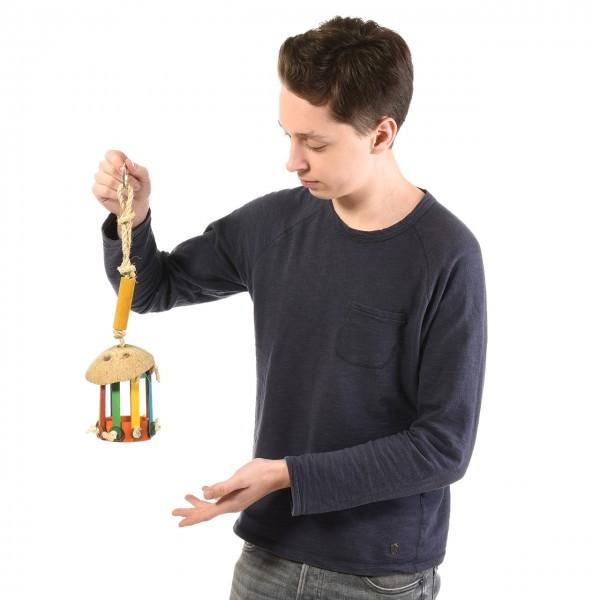 Papageienspielzeug Versteckspielzeug für Papageien - Foraging Toy