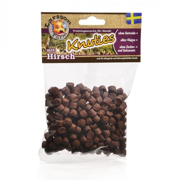 KNUTIES Kauartikel - Kartoffel-HIRSCH Hunde Snack Leckerlie 150gr