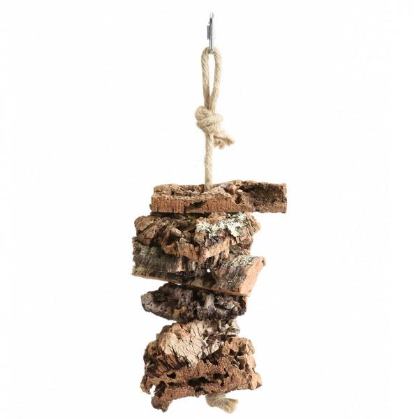 Corky Shredding Tower  - Large zum Knabber, Shreddern und Spielen - Mit lustigen bunten Holzblöcken
