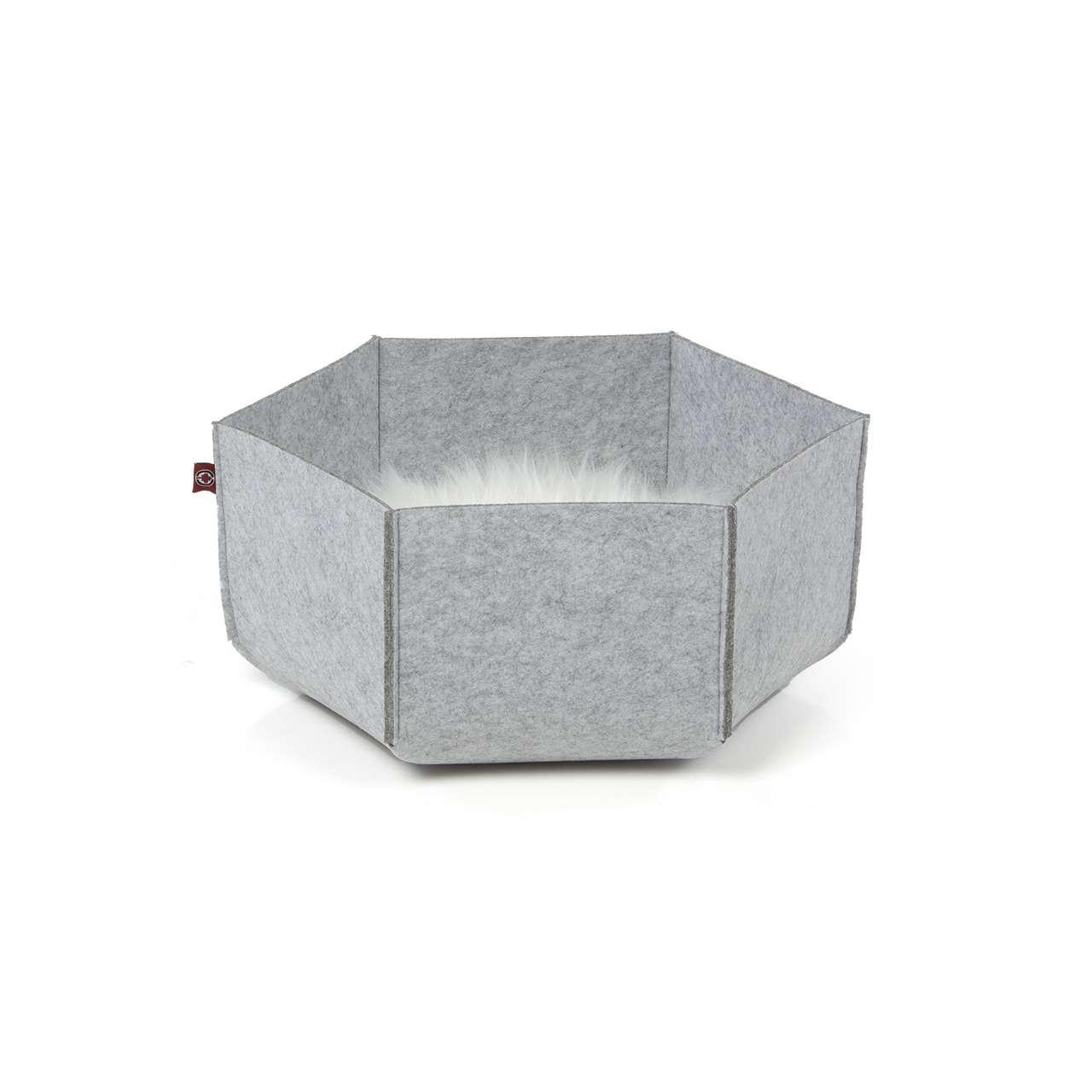 Felt lounge AVA   M grey