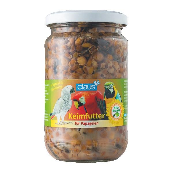 Keimfutter für Papageien 370ml - Vorgekeimte Sämereien ohne Konservierungsstoffe